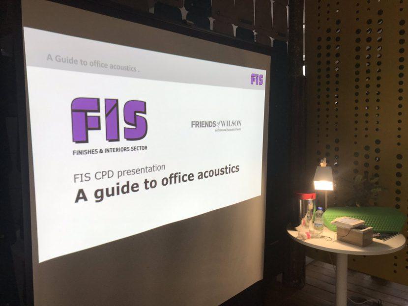 FIS - Friends of Wilson - Joe Cilia Office Acoustics